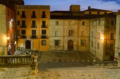 Girona Cathedral Royalty Free Stock Photos