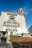 Girona cathedral Royalty Free Stock Image