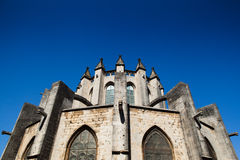 Girona Cathedral Apse Royalty Free Stock Photo