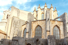 Girona. Cathedral Royalty Free Stock Images