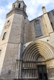 Girona Cathedral, Spain Royalty Free Stock Images