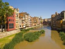Girona city Stock Photography