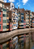 Girona cityscape, Spain Royalty Free Stock Image
