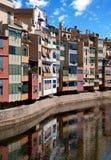 Girona cityscape, Spain royalty free stock image