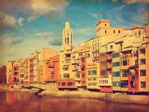 Girona. Stock Photo