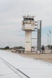 Girona Costa Brava Barcelona airport tower. Stock Image