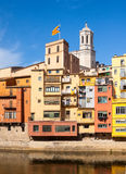 Girona in day time Stock Images