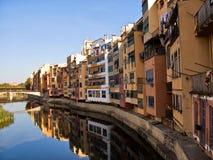 Girona en Cataluña Fotografía de archivo
