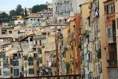 Girona gebouwen Royalty-vrije Stock Foto's