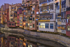 Girona and his river Royalty Free Stock Photo