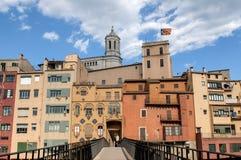 Girona, Hiszpania Zdjęcia Royalty Free