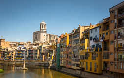 Girona Hiszpania zdjęcie royalty free