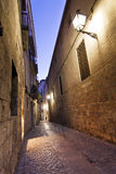 Girona jewish neighborhood Royalty Free Stock Photos