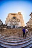 Girona Kathedraal Royalty-vrije Stock Afbeelding