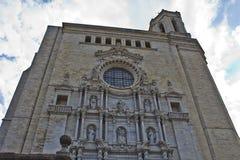 Girona kyrkalek av biskopsstolSept av Baelor Fotografering för Bildbyråer