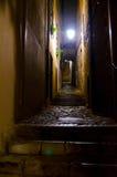Girona Nocturnal foto de stock royalty free