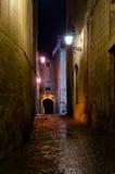 Girona Nocturnal fotos de stock royalty free