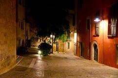Girona Nocturnal imagem de stock royalty free