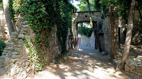 Girona, old town. Royalty Free Stock Images