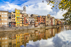 Girona - pictorial town, Spain Stock Images