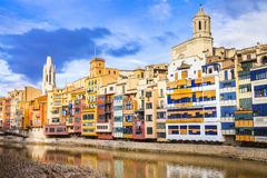 Girona - pictorial town, Spain Stock Image
