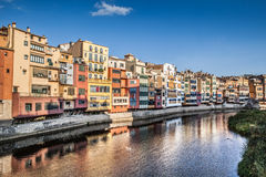 Girona river Royalty Free Stock Photo