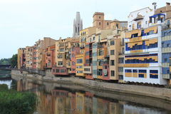 Girona river Royalty Free Stock Photography