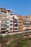 Girona Riverside Houses Royalty Free Stock Image