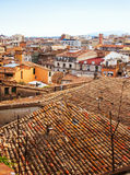 Girona from roof.  Catalonia Stock Image