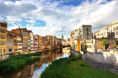 Girona rzeka Obraz Royalty Free