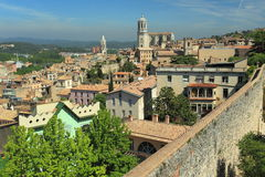 Girona scenery Royalty Free Stock Photography