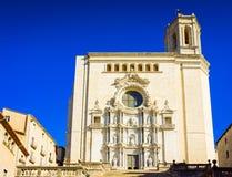 Girona in Spagna fotografia stock libera da diritti