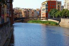 Girona, Spagna Fotografia Stock Libera da Diritti