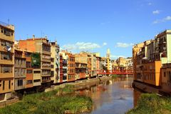 Girona/Spagna fotografie stock libere da diritti