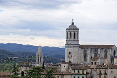 Girona in Spain Royalty Free Stock Photos