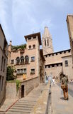 GIRONA, SPAIN - 14 MAY: During Temps de Flors (Flower Festival) Royalty Free Stock Photos