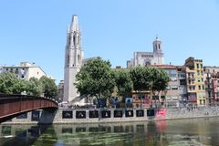 Girona Spain royalty free stock images