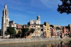 Girona, Spanien Stockfotos