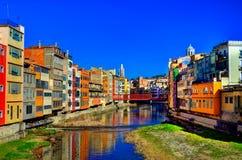 Girona Spanien Stockbilder