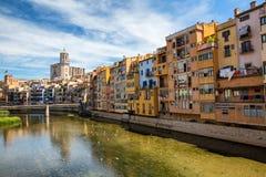 Girona, Spanien Stockbild