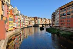 Girona spanien Stockfotos