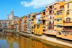 Girona, Spanje stock afbeeldingen