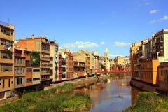 Girona/Spanje royalty-vrije stock foto's