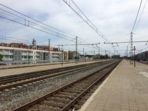 Girona stacja Obrazy Royalty Free