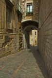 Girona street Royalty Free Stock Photos