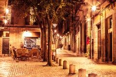 Girona street Stock Images