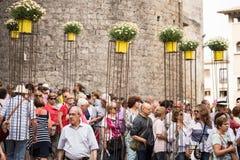 Girona temps de flors Στοκ Εικόνες