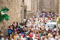Girona temps de flors Στοκ φωτογραφία με δικαίωμα ελεύθερης χρήσης
