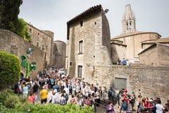 Girona Temps de Flors Lizenzfreie Stockbilder