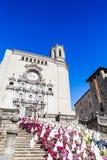 Girona-Temps flors Stockbild